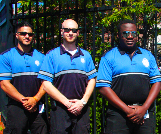 New England Security Unarmed Guards Team